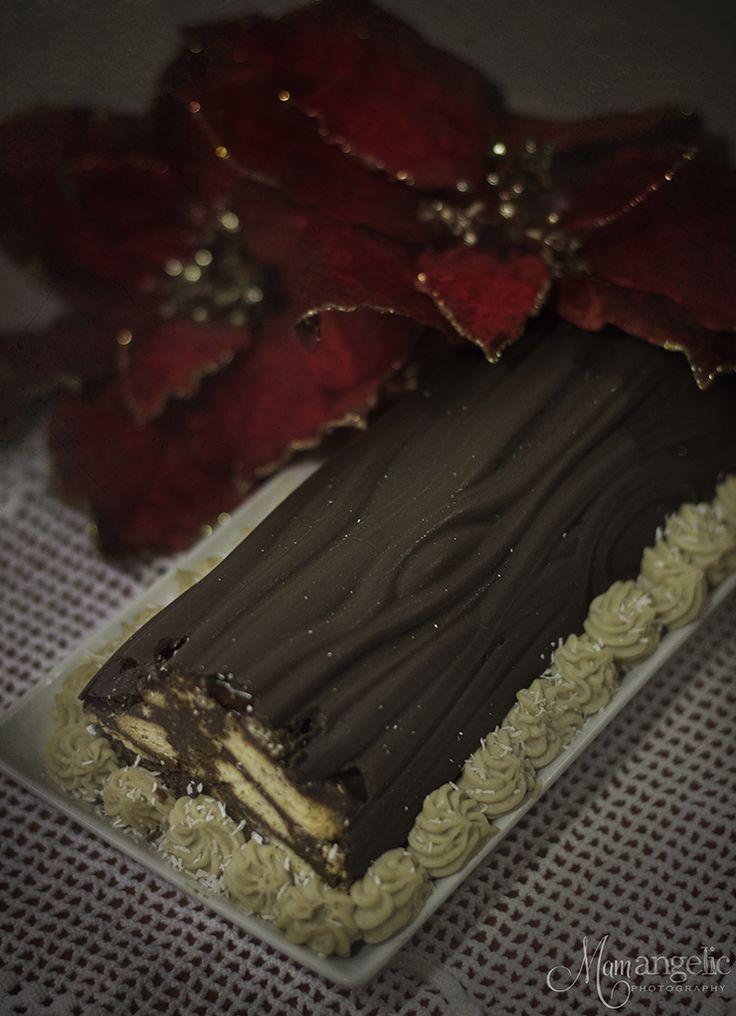 Κορμός με κρέμα κάστανο! | με σοκολάτα | oh so sweeeet!! | συνταγές | δημιουργίες| διατροφή| Blog | mamangelic