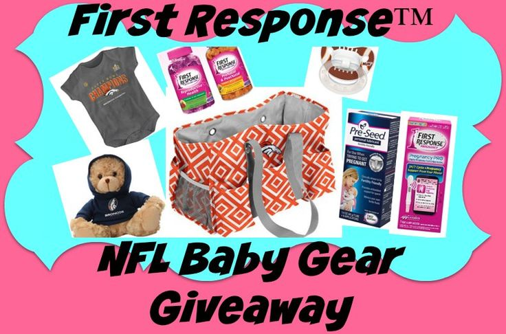 First Response NFL Baby Gear Giveaway (4/11 US/CA)