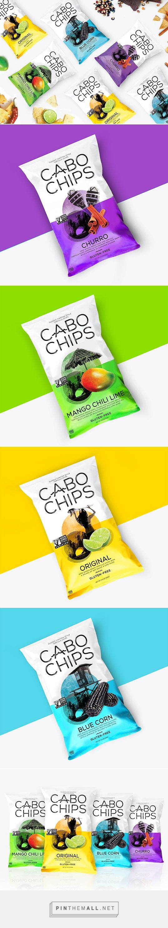 Cabo Chips by Rook. Pin curated by #SFields99 #packaging #design