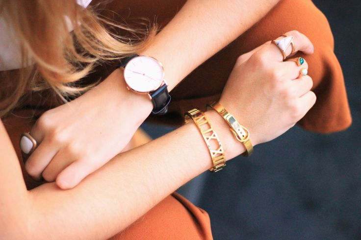 Culottes   Rossetto, Roman Empress Bangle and Buckle Bangle by @thepeachbox