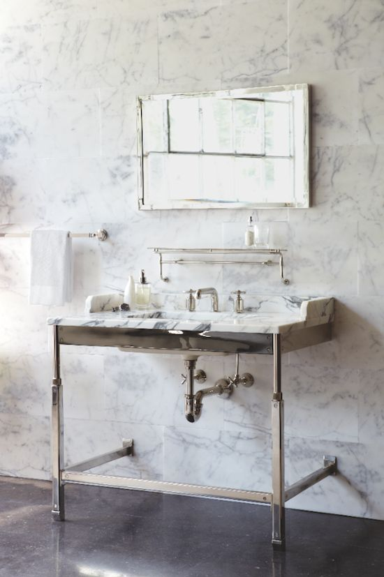 Roman And Williams Waterworks Bathroom Vanity Design