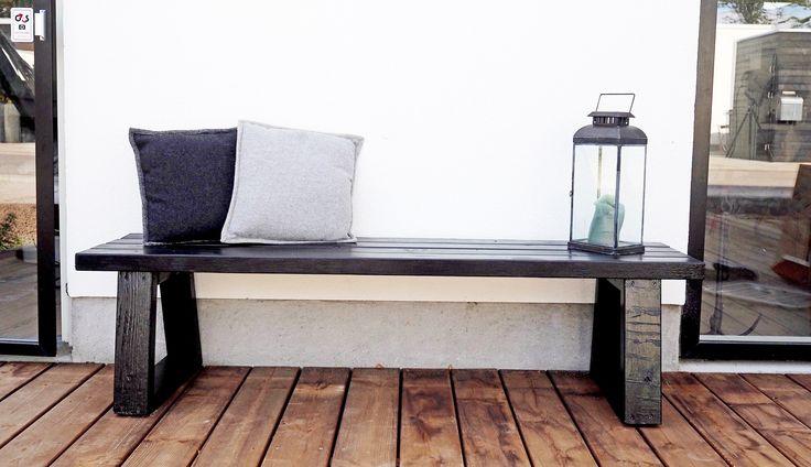DIY: byg en bænk af dine trærester