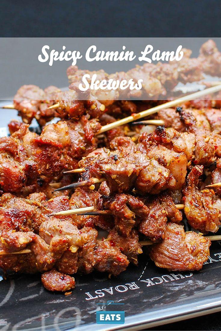 Spicy Cumin Lamb Skewers