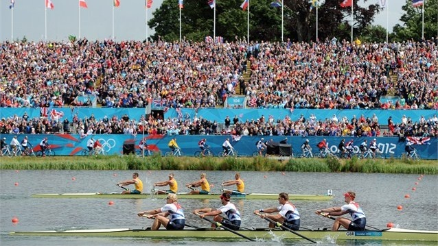 Day 8 - Australia won silver in the Men's Four. Great Britain won the gold ahead of Joshua Dunkley-Smith, Drew Ginn, James Chapman and William Lockwood. Photos - Olympic Rowing | London 2012 Olympics