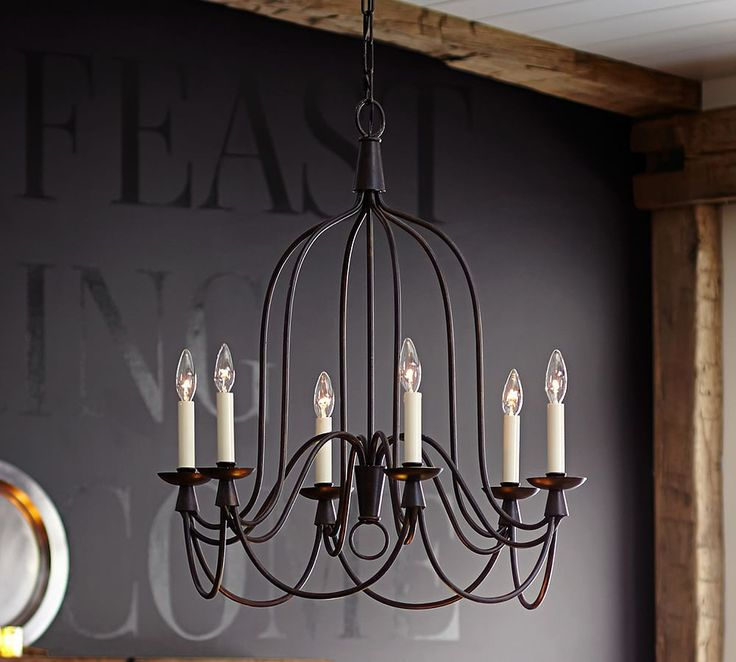 Pottery Barn Arden Chandelier: 17 Best Images About Chandeliers On Pinterest