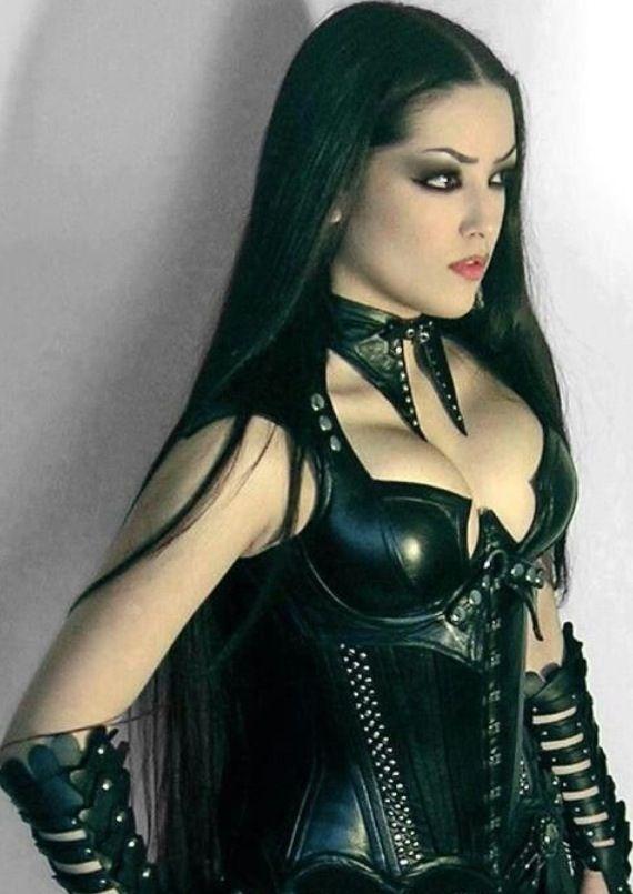 Hot sexy gothic women having sex naked