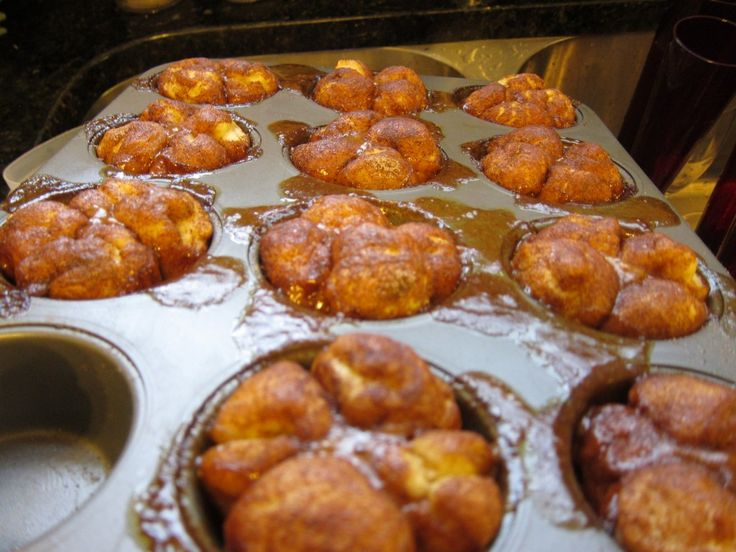 Single serve monkey bread - with healthier ingredients to boot!: Monkey Breads Yum, Minis Monkey, Single Serving Monkey, Individual Monkey, Breads Lights, Breads Ww, Breads 130, Cupcakes Monkey, Free Monkey