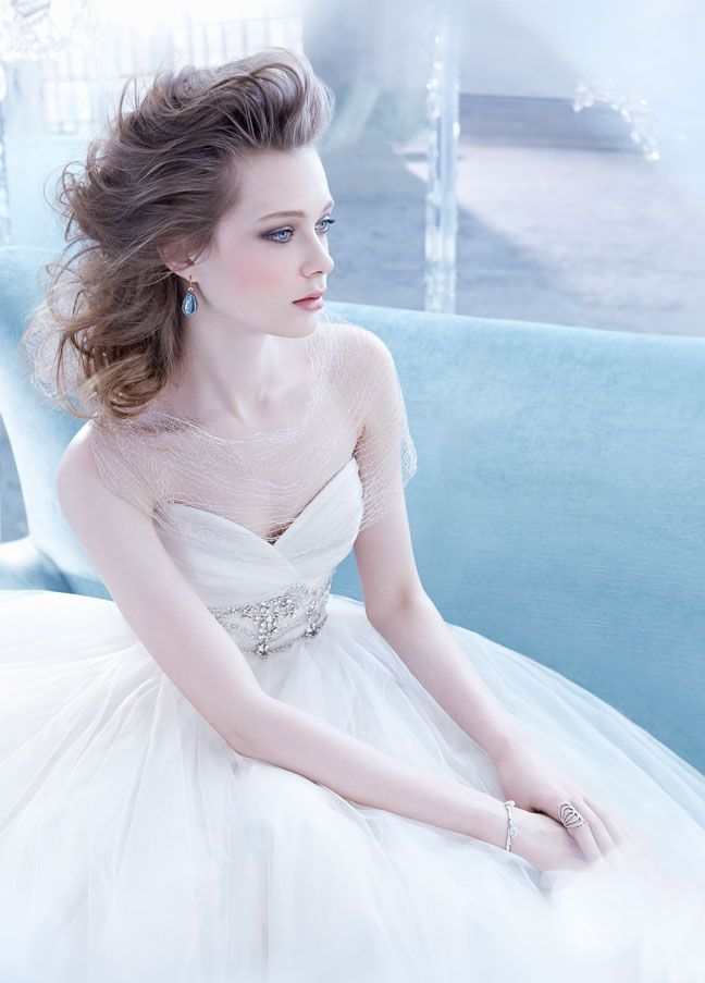 Lazaro Bridal Gowns Wedding Dresses Style LZ3453 By JLM Couture Inc