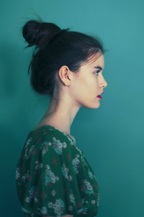 Lilya: Messy Bun, Inspiration, Hair Bun, Color, Green, Hairstyle, Hair Style, Beauty