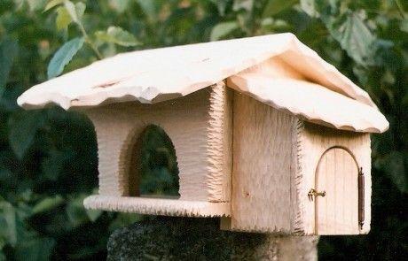 Hodiny, zrcadla, pendlovky, sochy, skulptury, okrasné rostliny - Fotoalbum - Ptačí krmítka - krmítko i ptačí budka 2