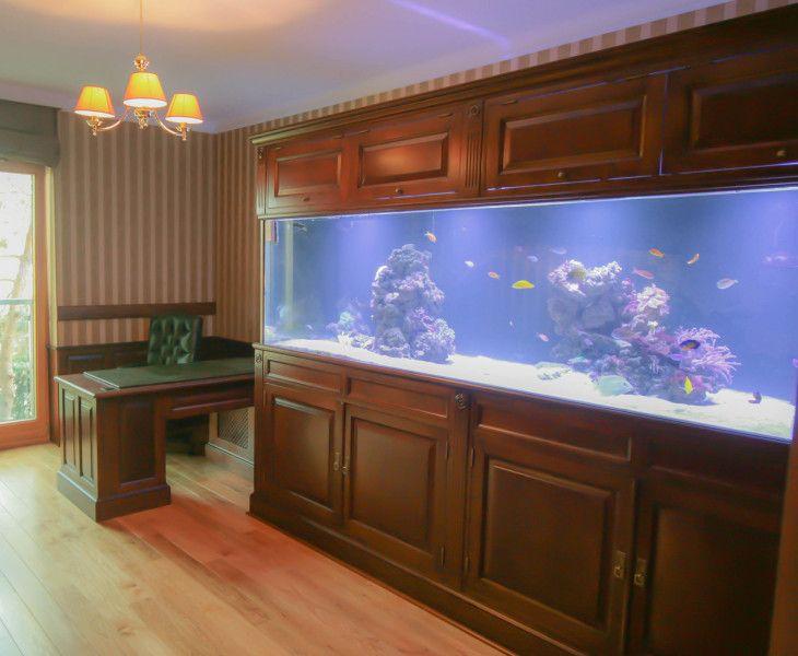 zabudowa akwarium drewniana, wooden aquarium casing