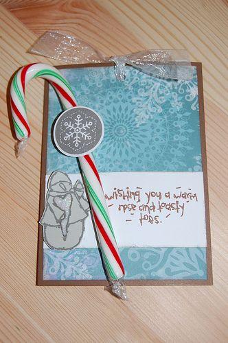 Holiday hot chocolate card. Mmmm.