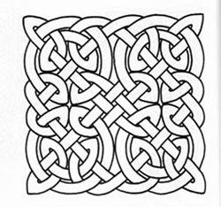 celtic printable colouring sheets Auf marcels-kid-crafts.com gefunden