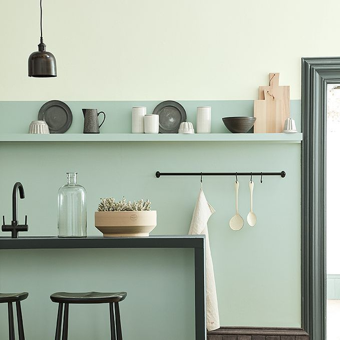 """1,014 Likes, 11 Comments - Little Greene (@littlegreenepaintcompany) on Instagram: """"The Aquamarine Colour Scales Family bring a gentle coolness and tranquillity to a room."""""""