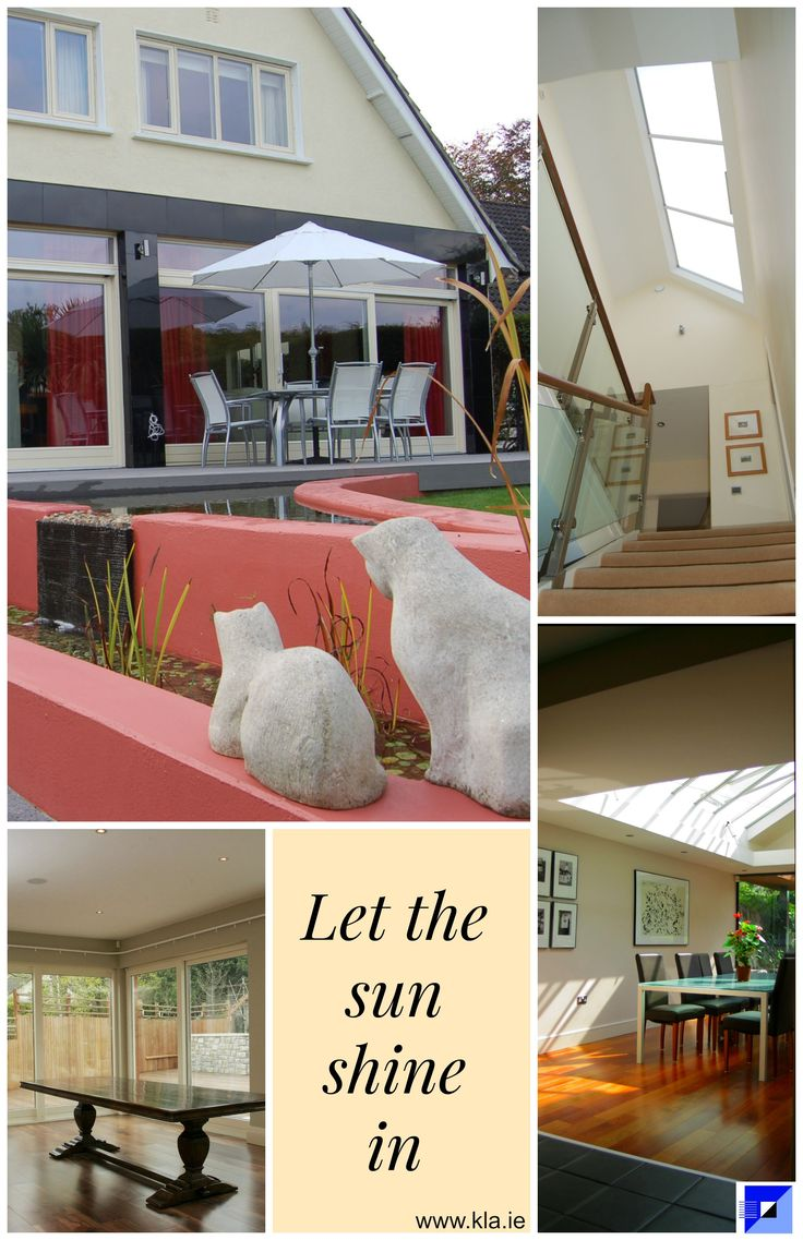 Let the sun shine in. Keenan Lynch Architects find creative solutions to flood homes with natural light. www.kla.ie