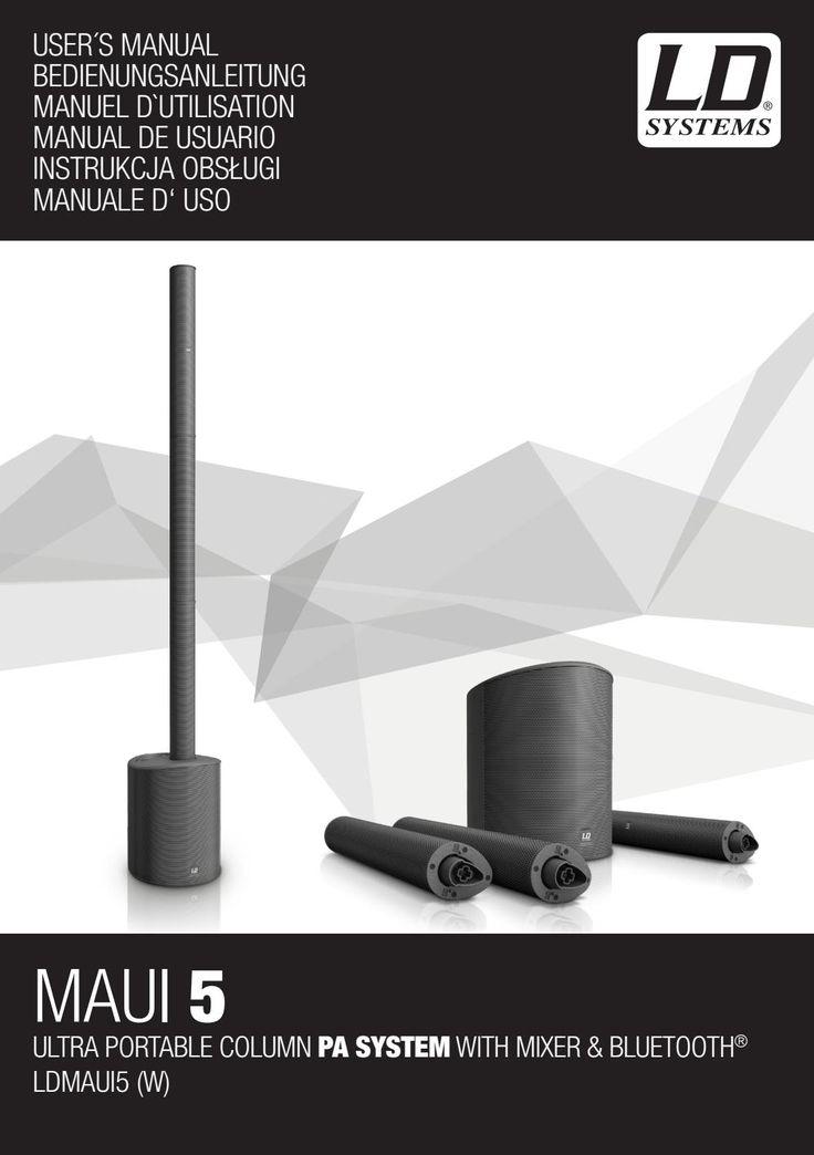 Ldmaui5 ldsystems manual en de fr es pl it