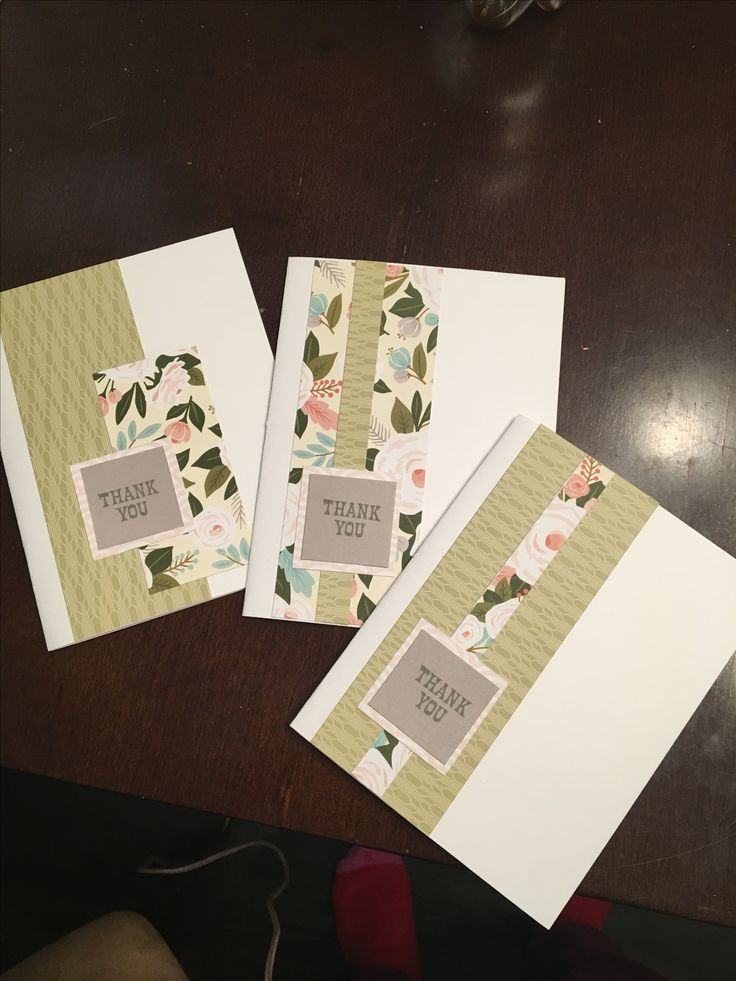 Www.Heatherdeveaux.closetomyheart.ca Hello Lovely paper pack used to make these thank you cards! #cards #handmade #crafts #closetomyheart