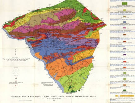 geological history of pa Prevalent is the rockdale run formation located in the northwestern portion of  the  geyer and j peter wilshusen from the pennsylvania geological survey.