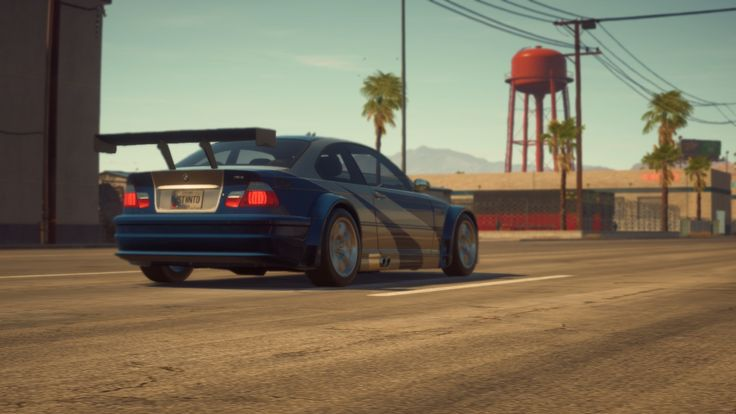 The player's BMW M3 E46 GTR from Most Wanted 2005 2 ...