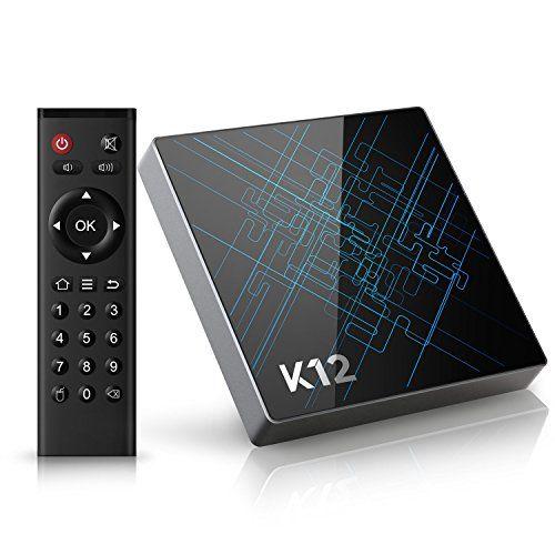 Android TV Box Bqeel K12 neuster Android 6.0 Streaming Media Player mit Amlogic S912 Octa Core CPU / 2GB Ram + 16GB eMMC / vorinstallierter KODI 16.1 / 1000M LAN / Dual-Band WiFi / Bluetooth 4.1 / OTA-Update-Funktion / 4K HD/ 3D / USB / HDMI