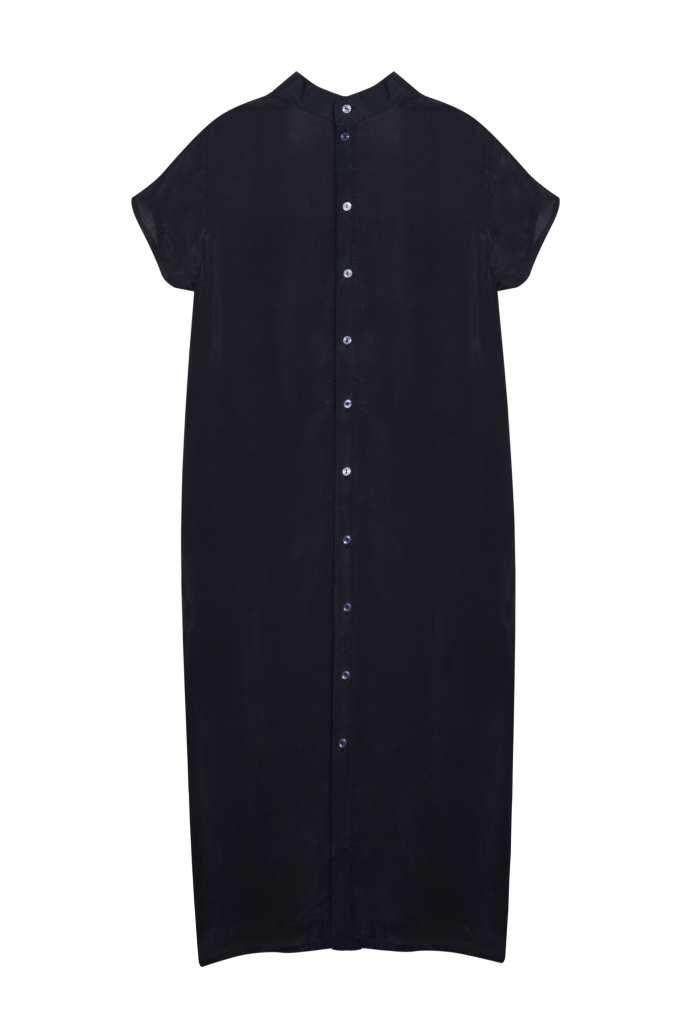 магазин дизайнерской одежды и аксессуаров Хохловка: Платье -рубашка женская графит TOTO платья