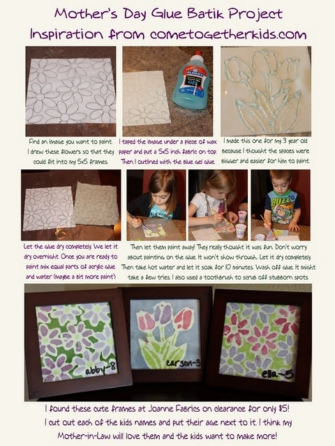glue batik art