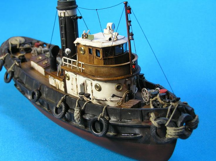 Harbour Tug Boat 1/109 Revell + Evergreen+spares... - Europeanmodeller Forums