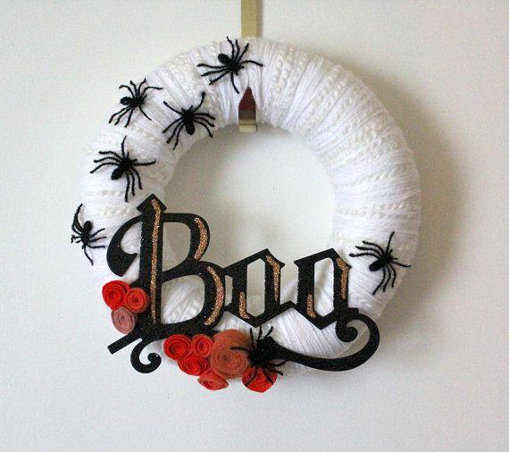 Halloween Wreath!                                                                                                                                                                                 More