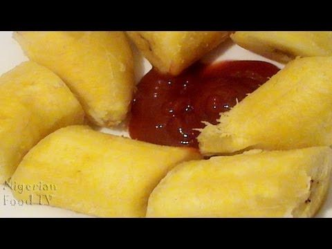 Boiled Plantains : Easy Nigerian Food recipe - YouTube