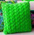Как связать подушку спицами — Рукодельный уголок