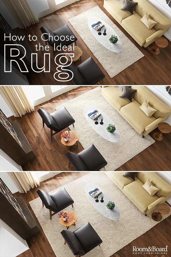 Shopping for the perfect rug? Let us help with guides for rug size and placement recommendations for modern living rooms, dining rooms and bedrooms.