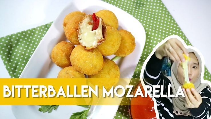 Bitterballen Mozarella Recipe by Dapur Adis.