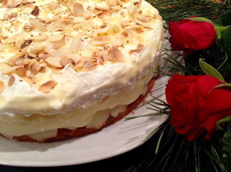 Birnen-Wein-Torte  Eine wirklich delikate Torte für jede Feierlichkeit . Es lohnt sich, dieses Rezept einmal auszuprobieren.