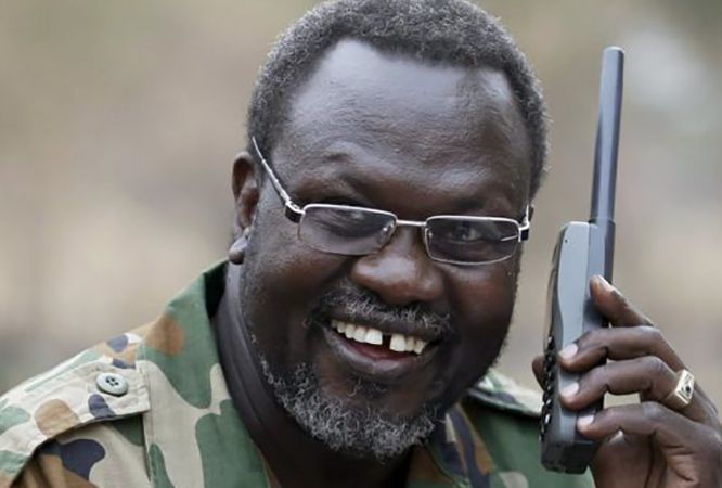 African States express opposition to the return of South Sudan rebel Machar