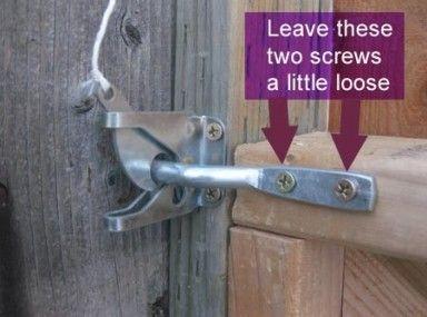1000 Ideas About Gate Locks On Pinterest Locks Fence