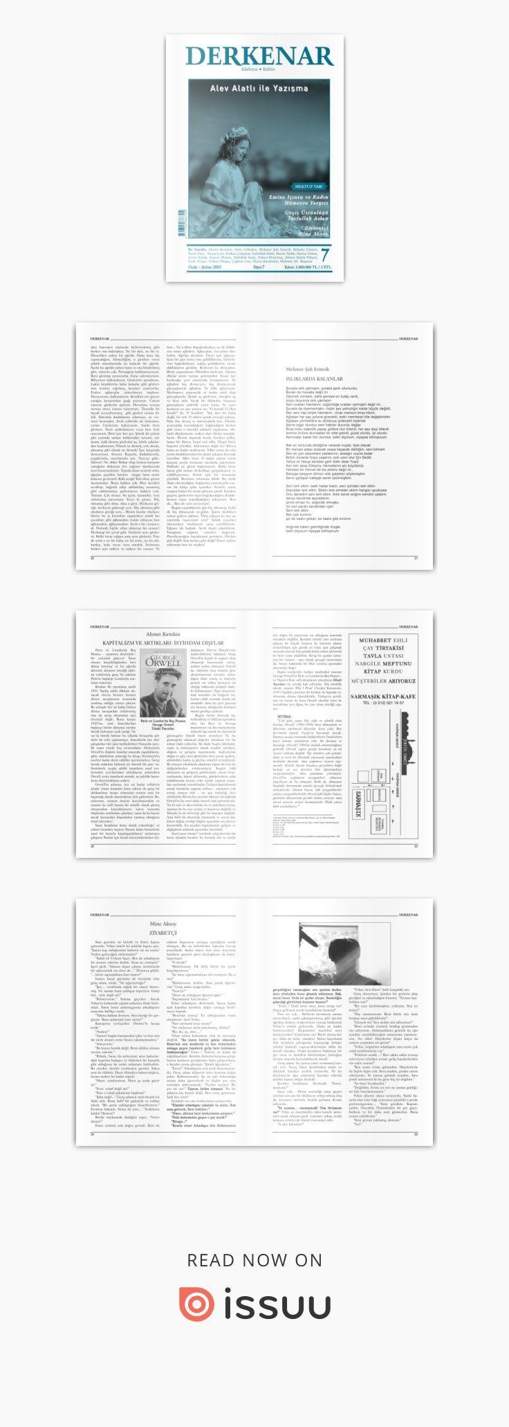 Derkenar 7  Derkenar dergisinin 7. sayısı / Ocak-Şubat 2005