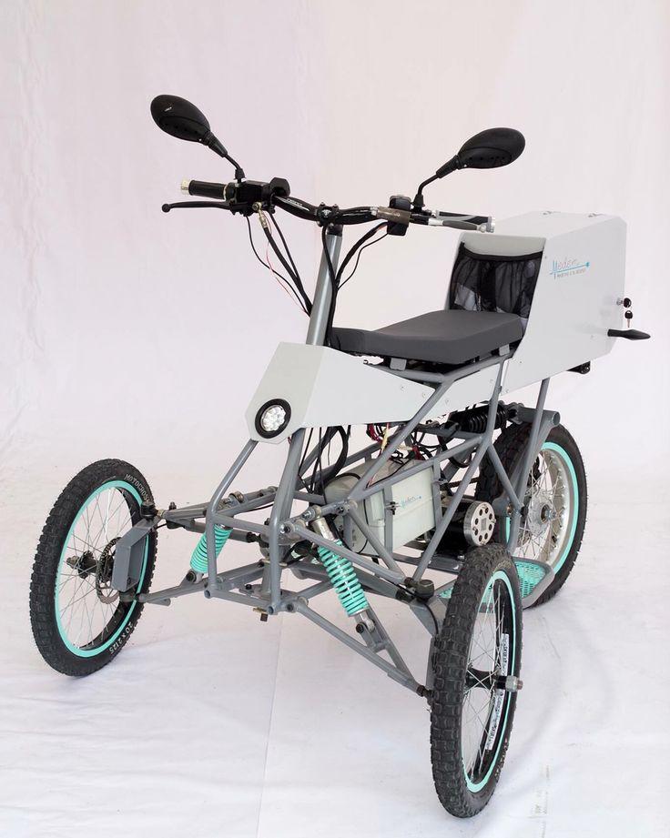 """MEDEM """"Medicina a tu alcance"""" - vehículo para atención médica domiciliaria en zonas rurales"""