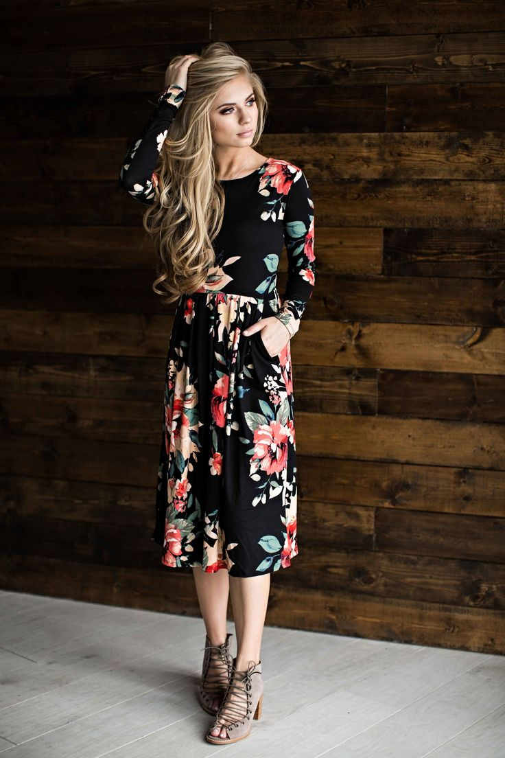 Floral Dress Floral Easter Dress Blonde Hair Fashion