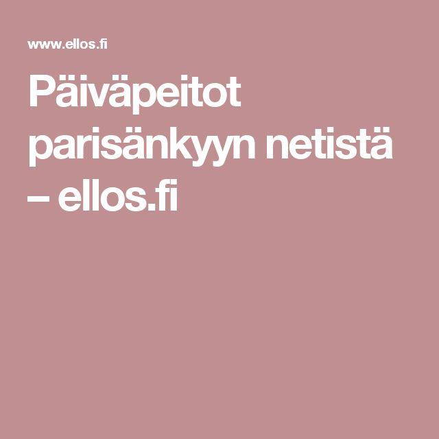 Päiväpeitot parisänkyyn netistä – ellos.fi