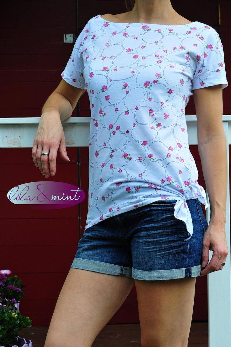 FREEEBOOK # 50 EAZZY.SHIRT GR. 32-54 Du suchst nach DEM vielseitigen Shirt-Freebook für den Sommer? Für den Strand, das Schwimmbad oder doch lieber casual (Diy Shirts)