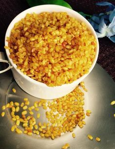 Moong Dal snack - Microwave recipe%
