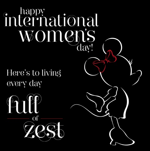 International Women S Day Quotes: Happy International Women's Day From Minnie Mouse