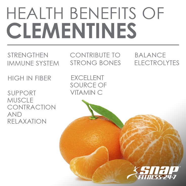 Thirty five calories per fruit and loaded with nutritional benefits? Clementines are definitely on the healthy snack side!