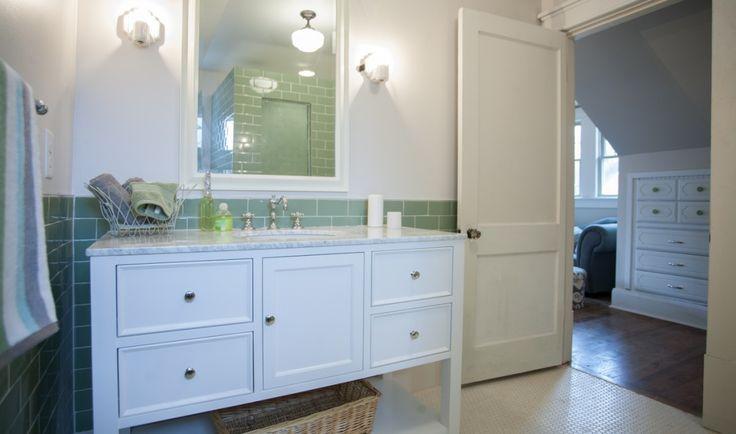 13 best bathrooms images on pinterest bathroom half for Nashville flipped