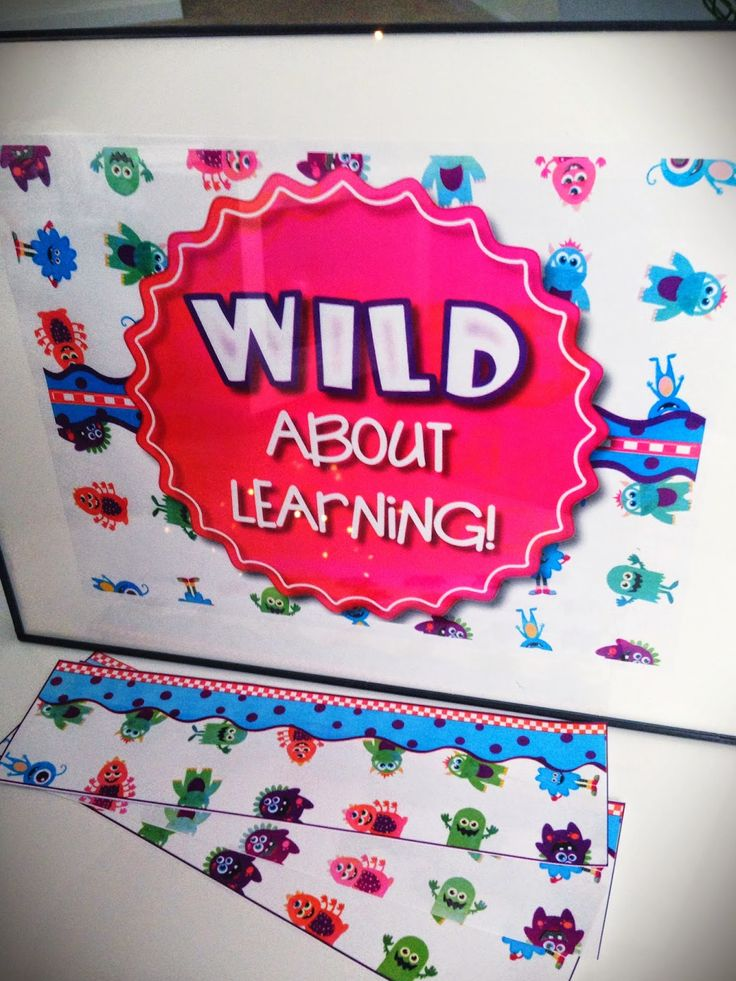 Monster Bulletin Board Set #FREE #ClassroomFreebie