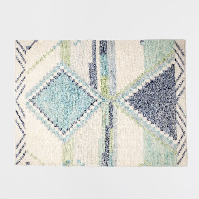 Image 2 of the product Multicoloured geometric printed rug