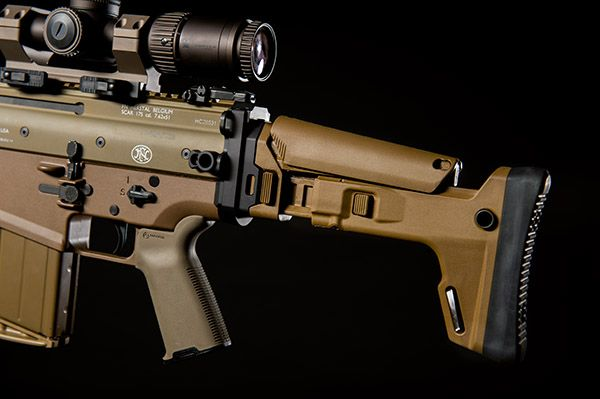 SAS - SCAR Adaptable Stock Kit - Magpul Brown | Block 2