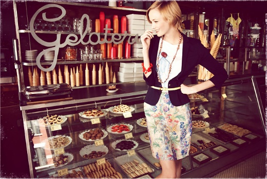 patisserie shop: Floral Skirts, Anthropology Shops, Sweet Treats, Daytoday Anthropologiecom, Ice Cream, Anthropology Com Pictures, Gelato Icecream, Icecream Shops, Cute Work Outfits