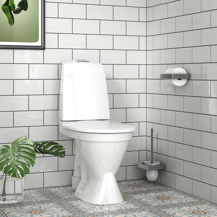 Toalettstol Nautic 1591 med Hygienic Flush.
