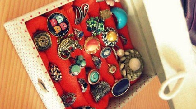 Como fazer uma caixa para guardar anéis - Bolsa de Mulher